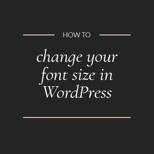 how to get a font on wordpress